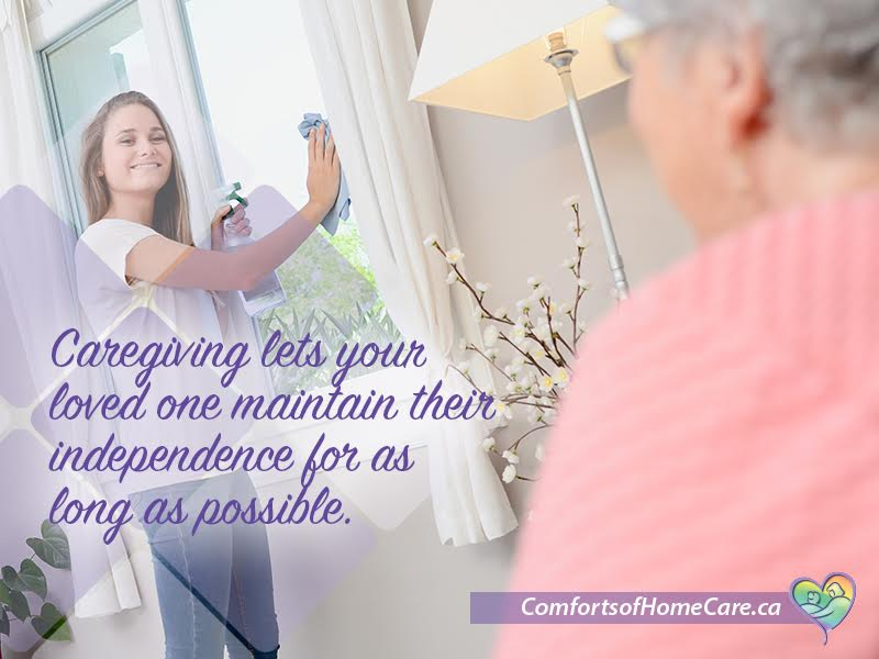 Temporary caregiving until you're back on your feet